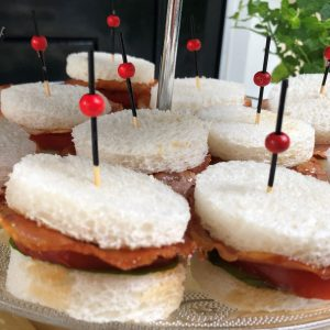 high tea - sandwich BLT