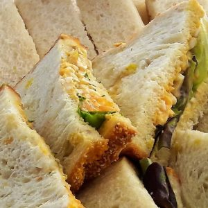 high tea - sandwich eiersalade