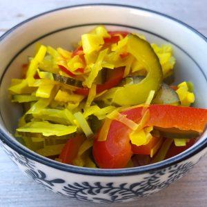 indisch buffet - atjar tjampoer