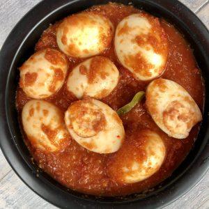 indisch buffet - sambal goreng telor