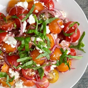 italiaans buffet - frisse tomatensalade